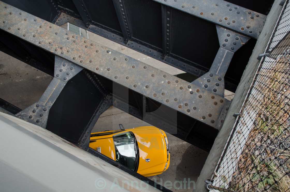 """High Line taxi"" stock image"