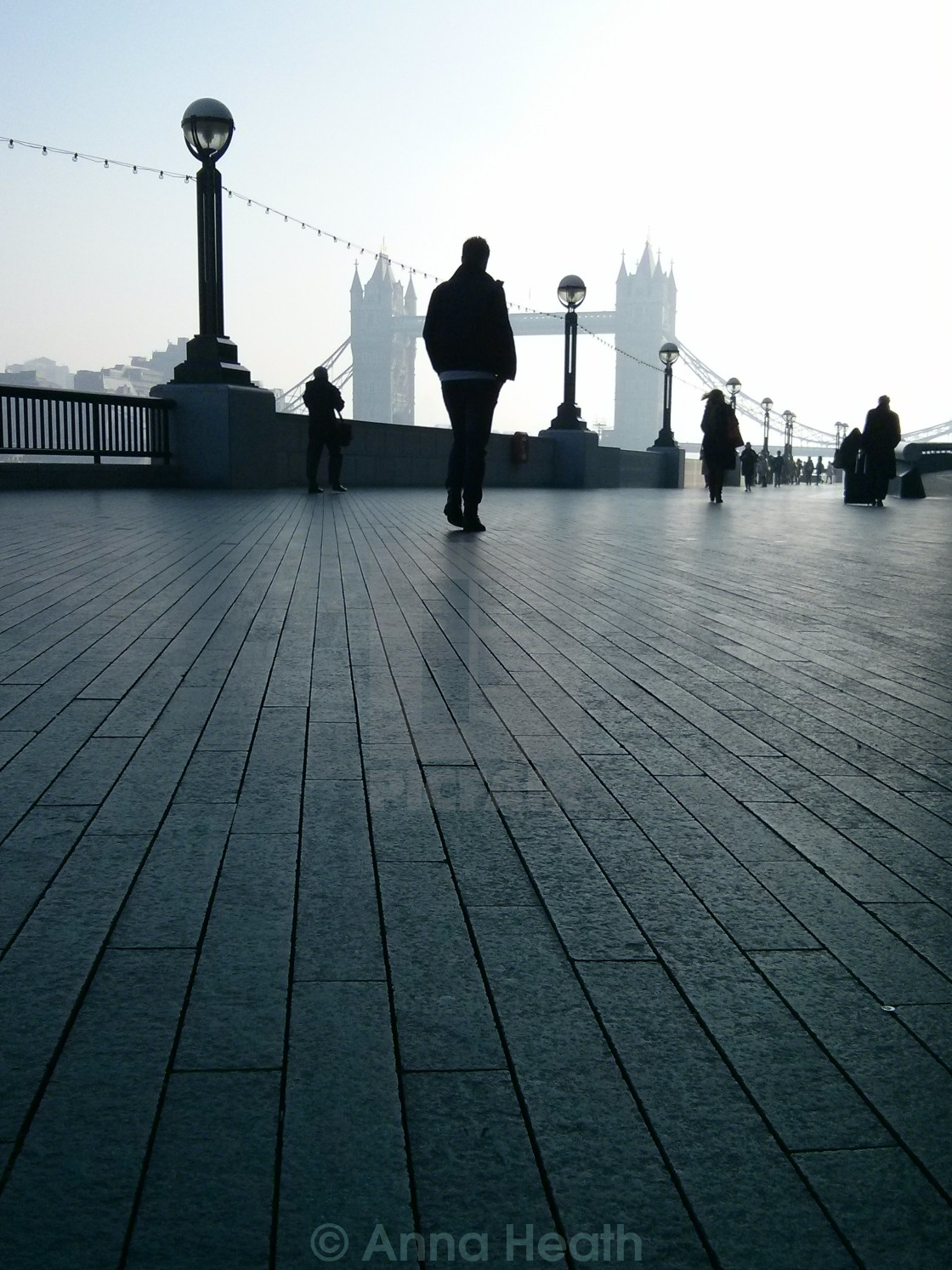 """Misty More London"" stock image"