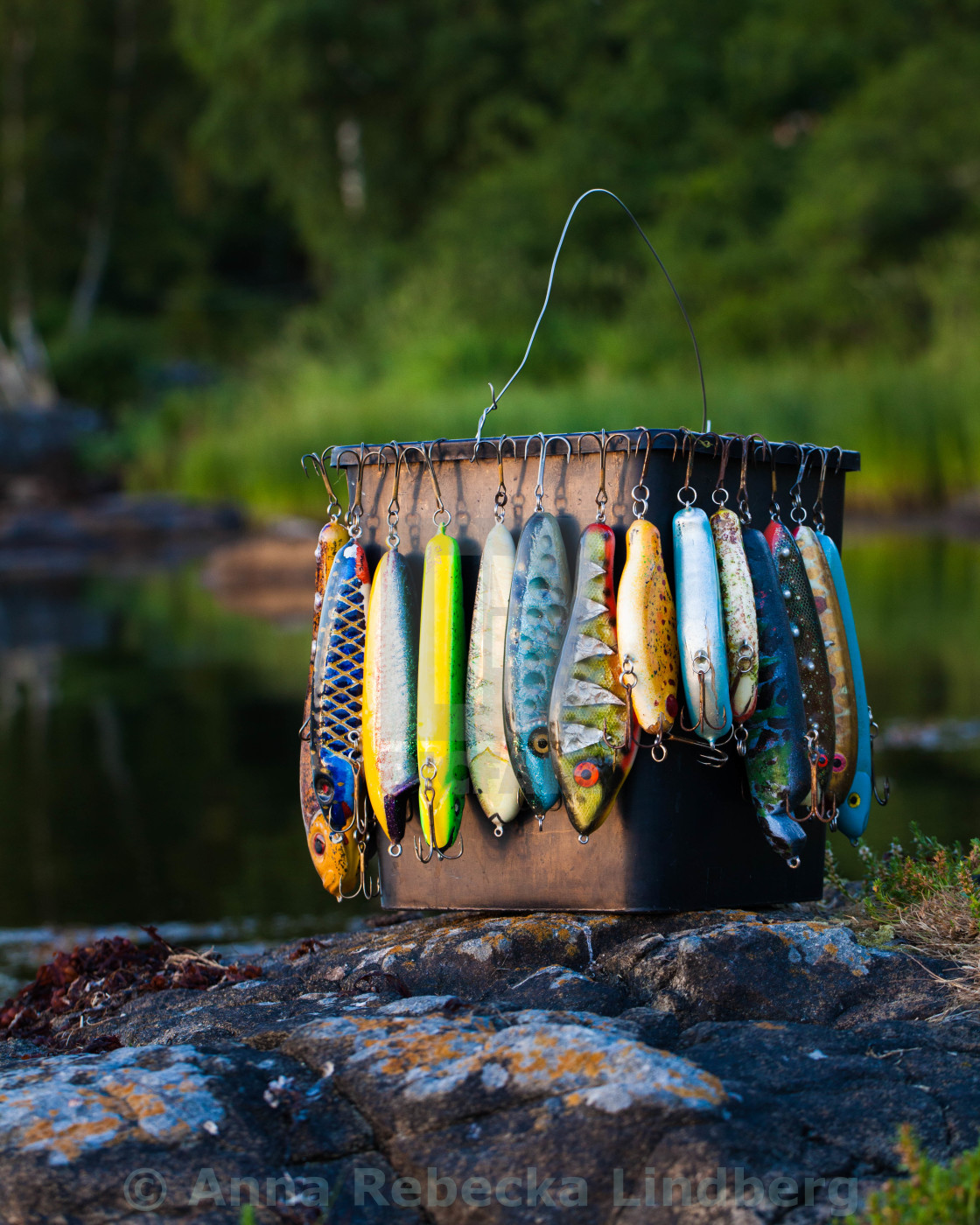 """Gone fishing"" stock image"