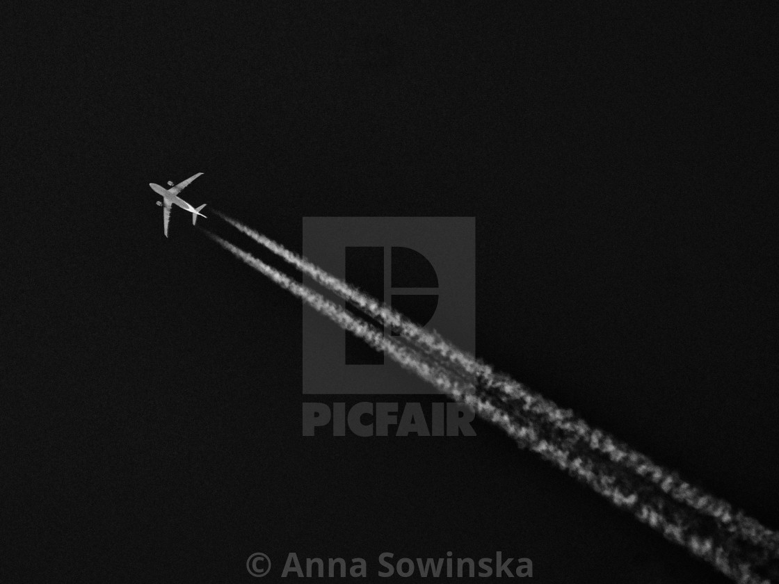 """in the sky"" stock image"
