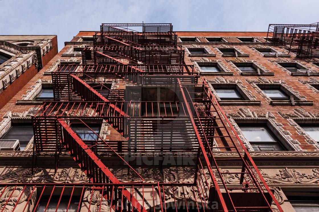 """""""Beautiful Harlem Architecture"""" stock image"""