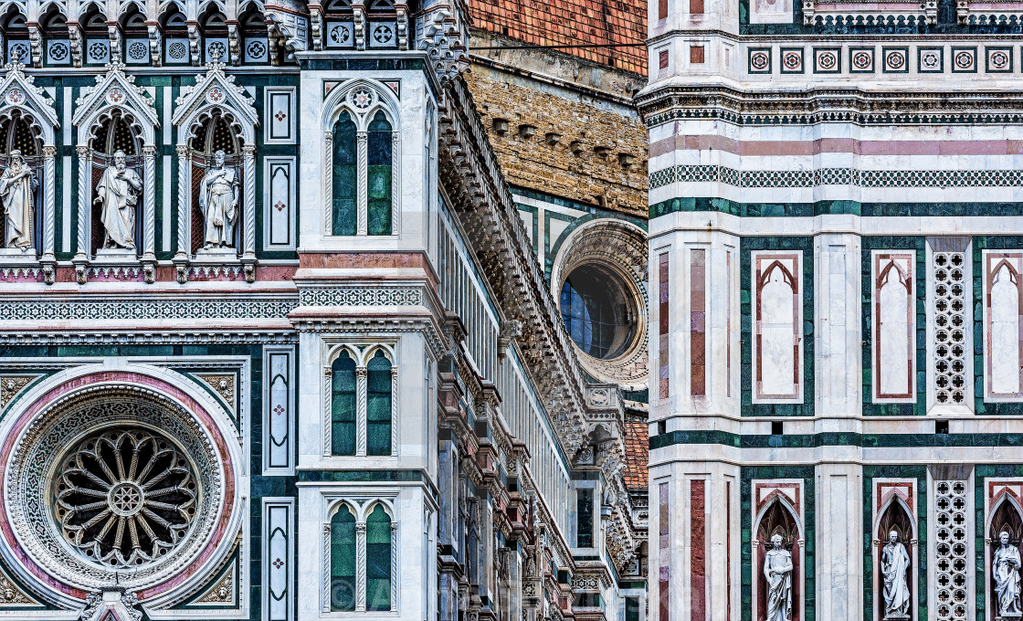"""""""Santa Maria del Fiore"""" stock image"""