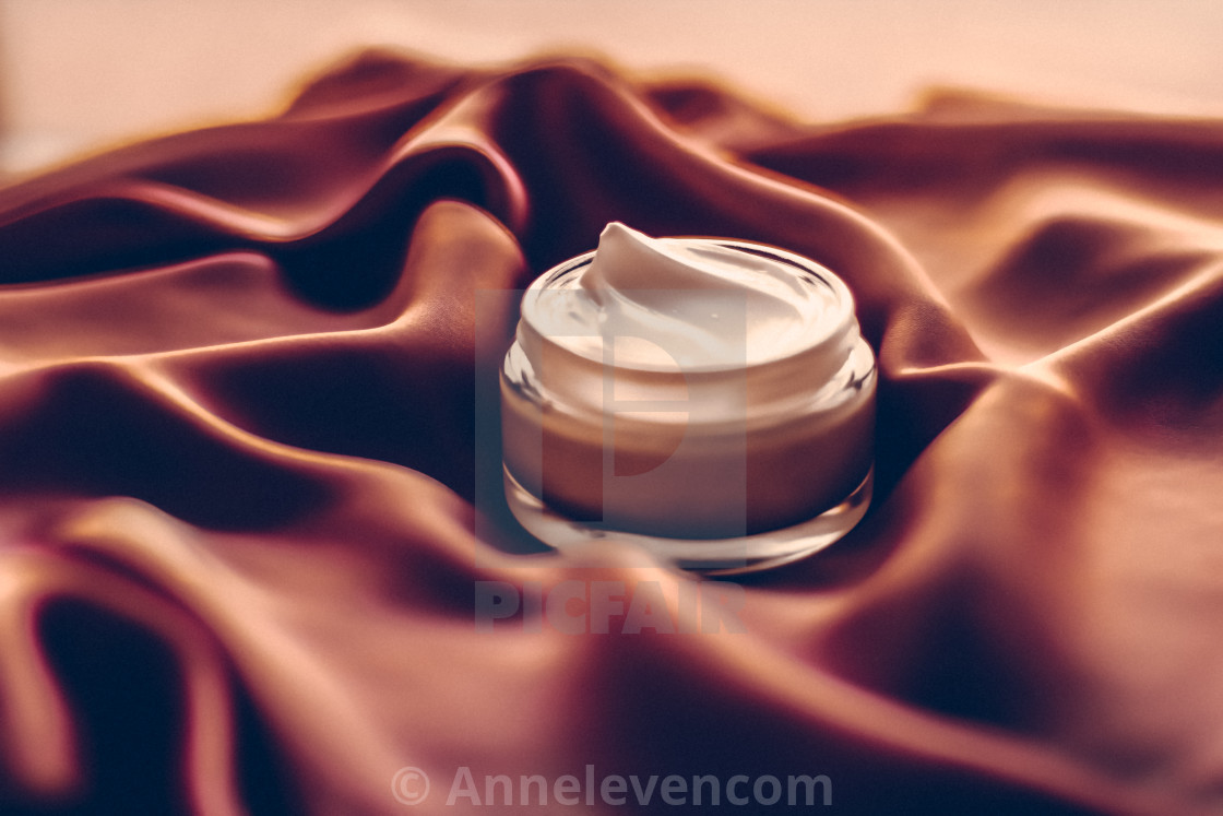 """Beauty face cream moisturizer for sensitive skin, luxury spa cosmetic and..."" stock image"