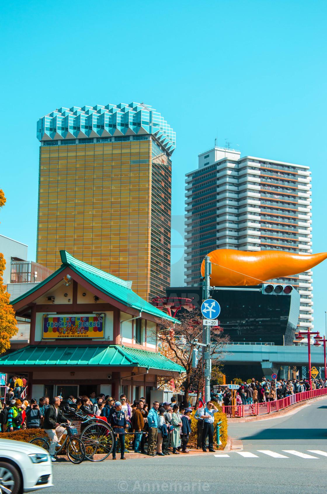 """""""Asakusa and Odaiba"""" stock image"""