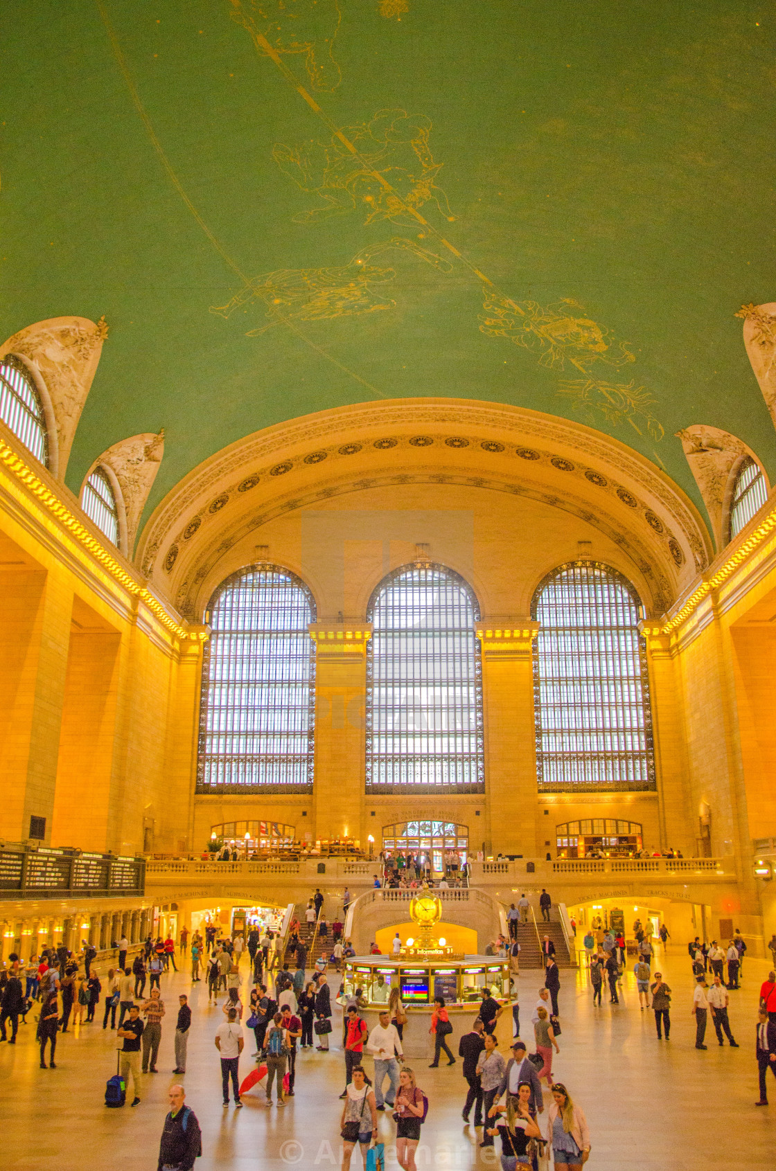 """""""New York Central Station"""" stock image"""