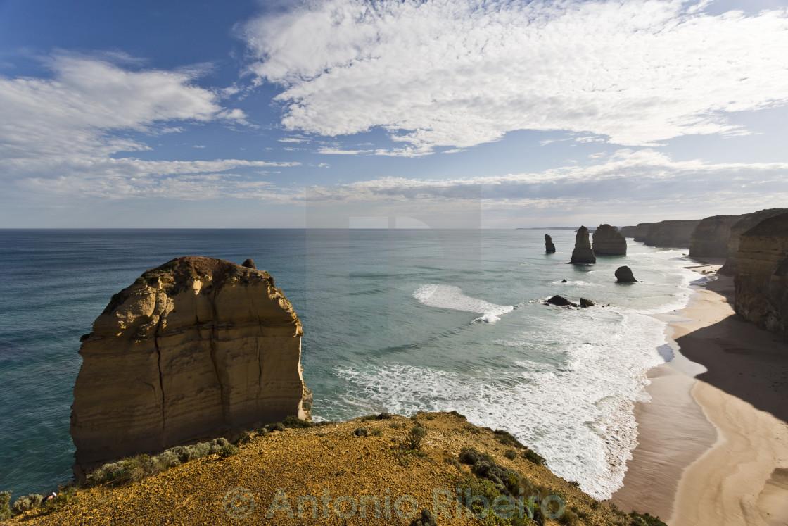 """Twelve Apostles Coastline"" stock image"