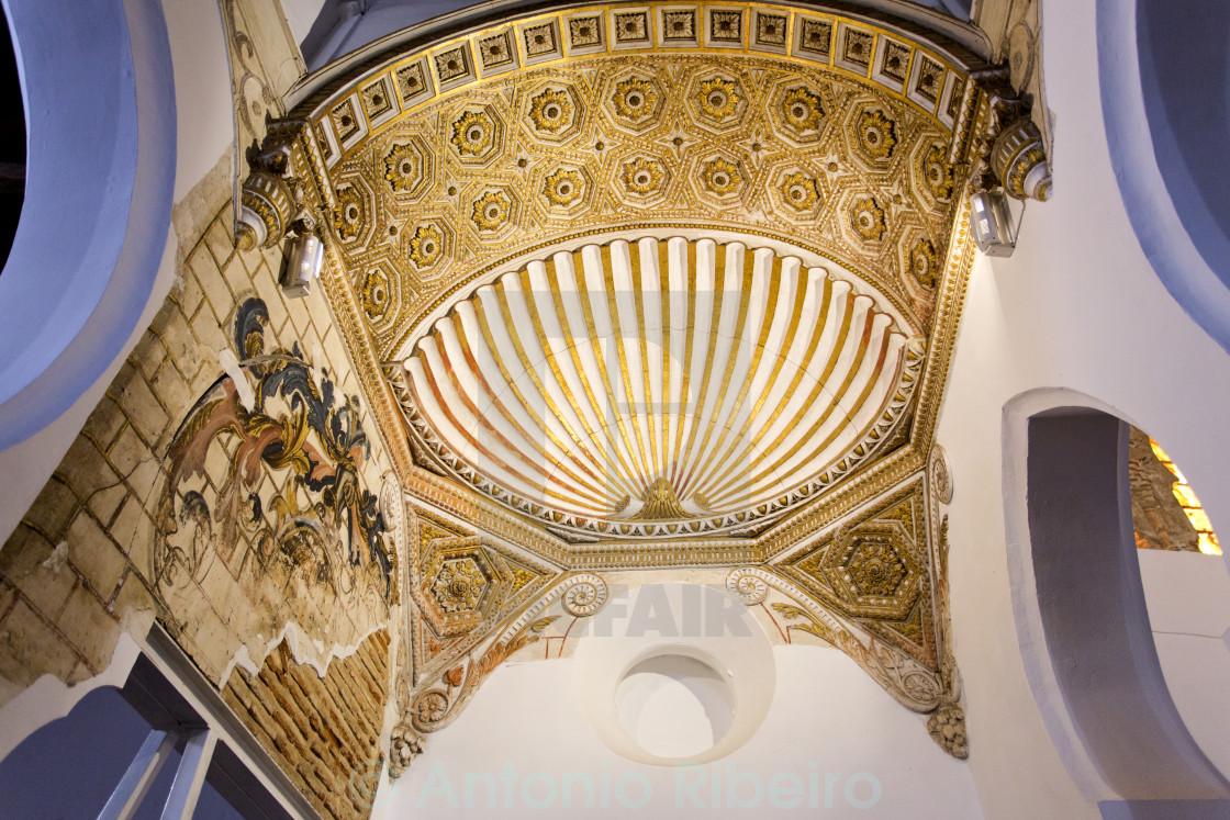 """""""Synagogue Santa Maria la Blanca"""" stock image"""