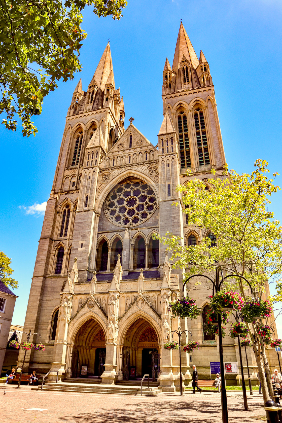 """""""Truro Cathedral"""" stock image"""