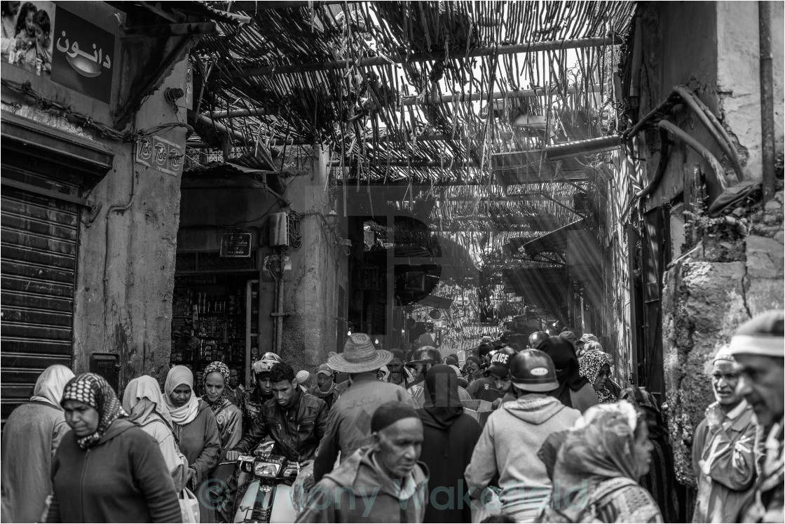 """Marrakech Souk"" stock image"