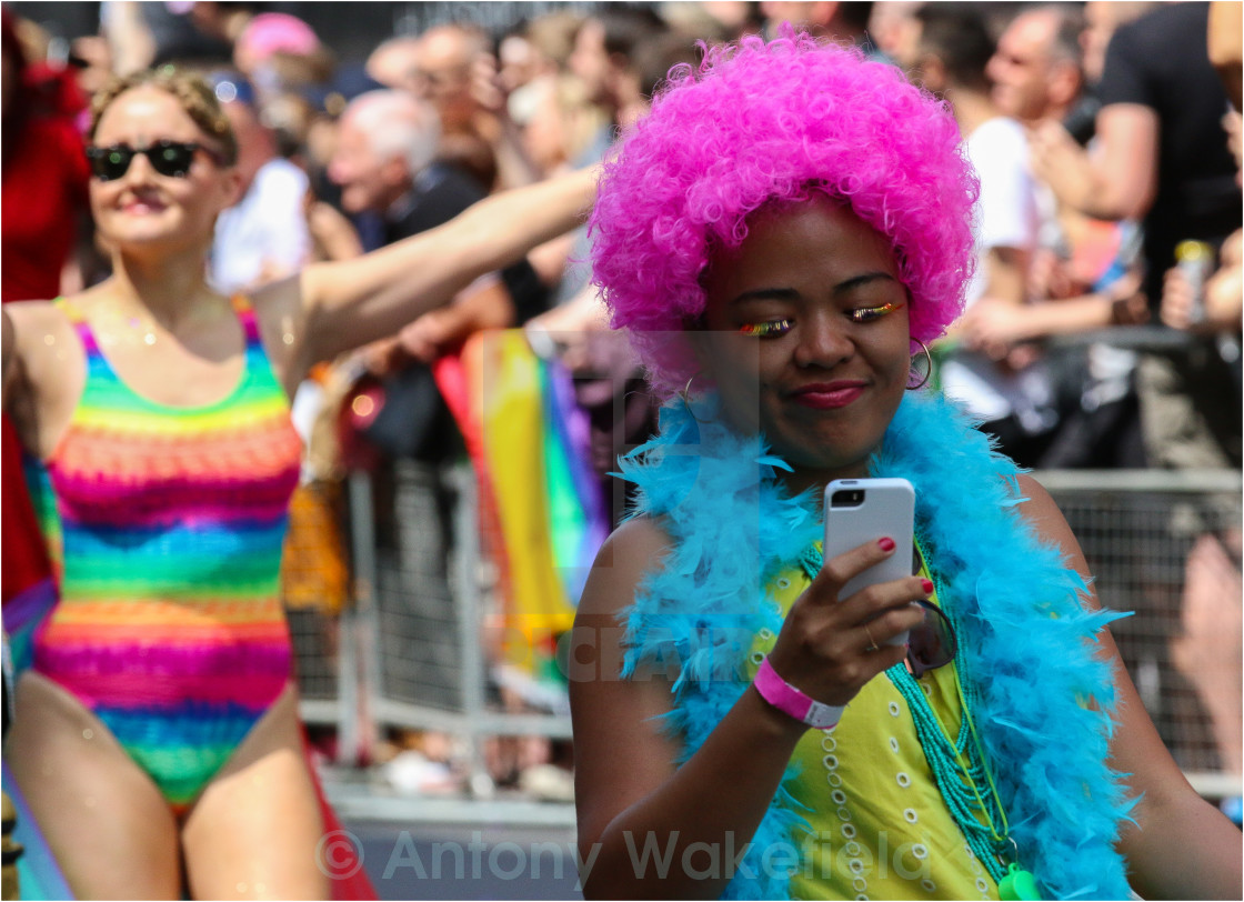 """Pride in London 2015"" stock image"