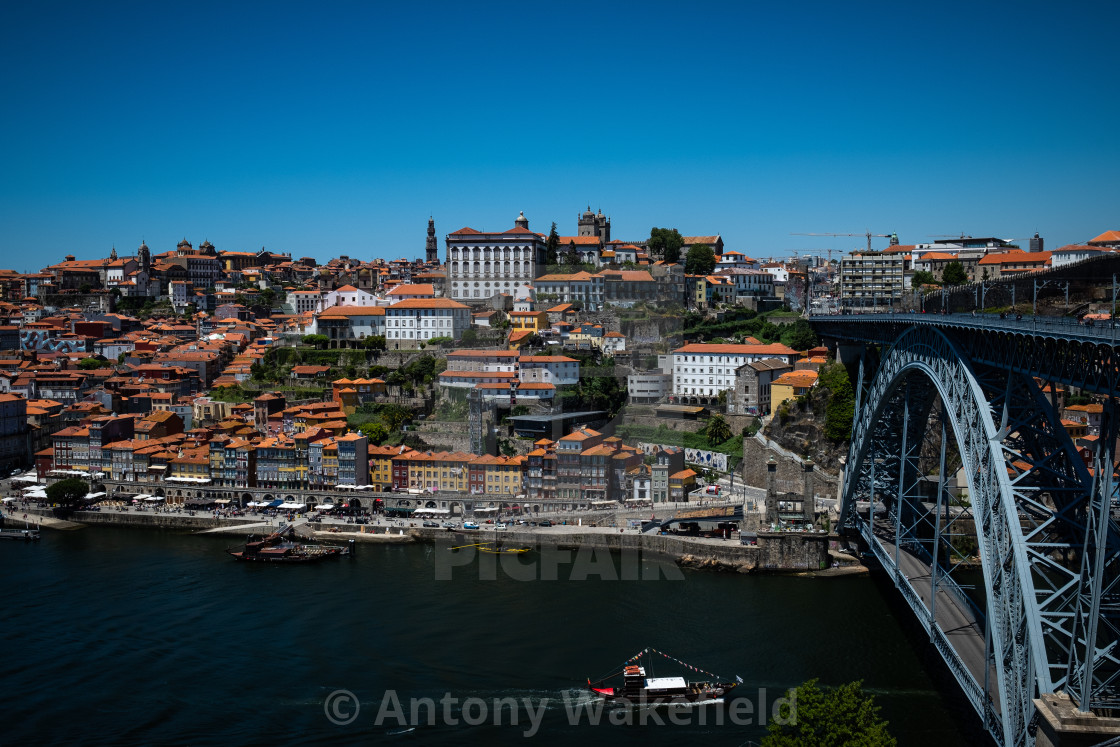 """Porto City 3"" stock image"