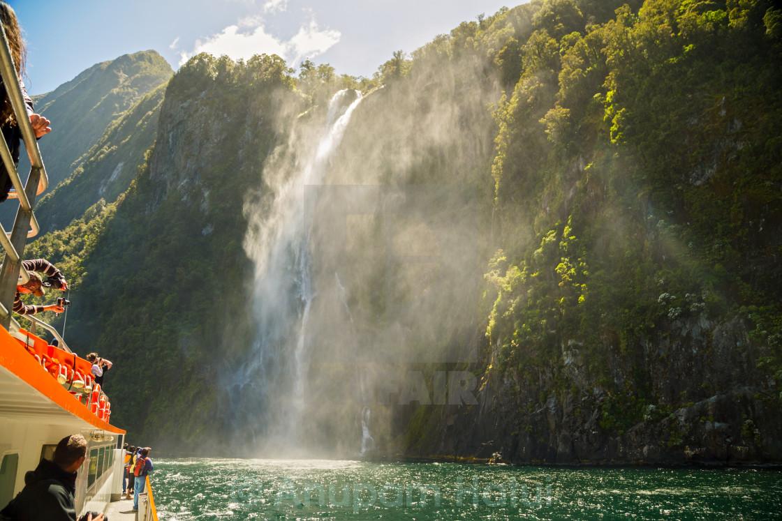 """""""Palisade Falls ..."""" stock image"""