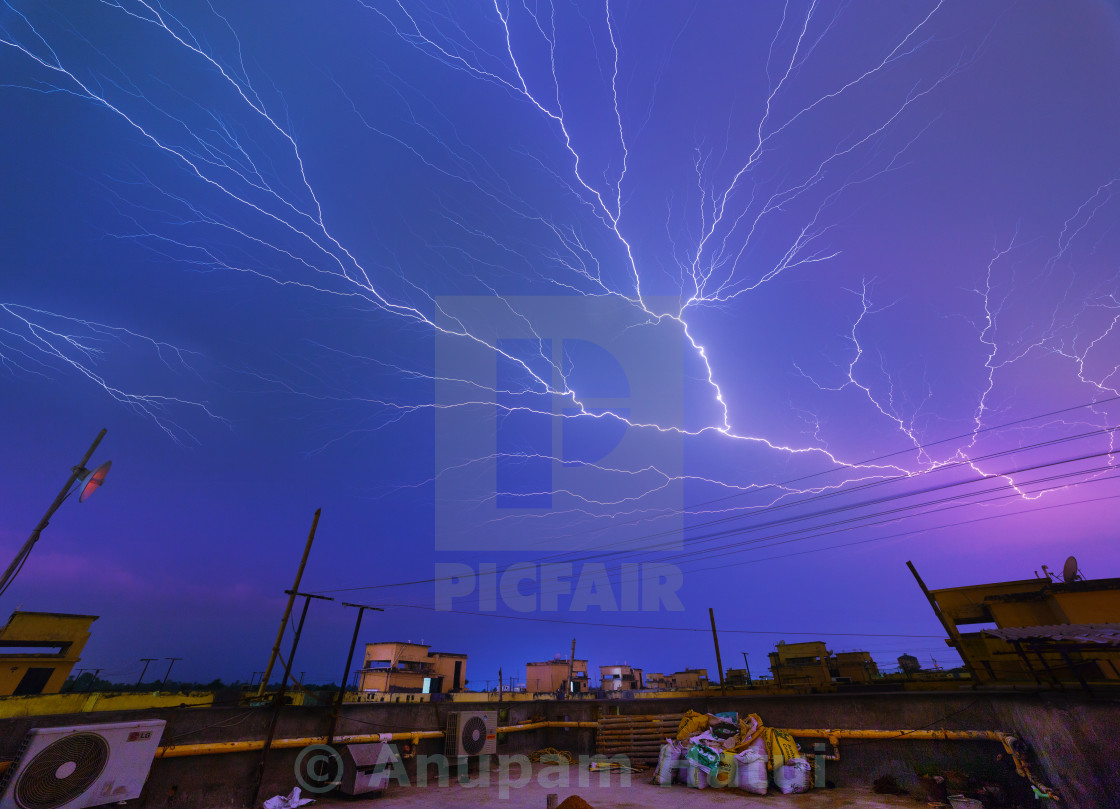 """Thunder and Lightning ..."" stock image"