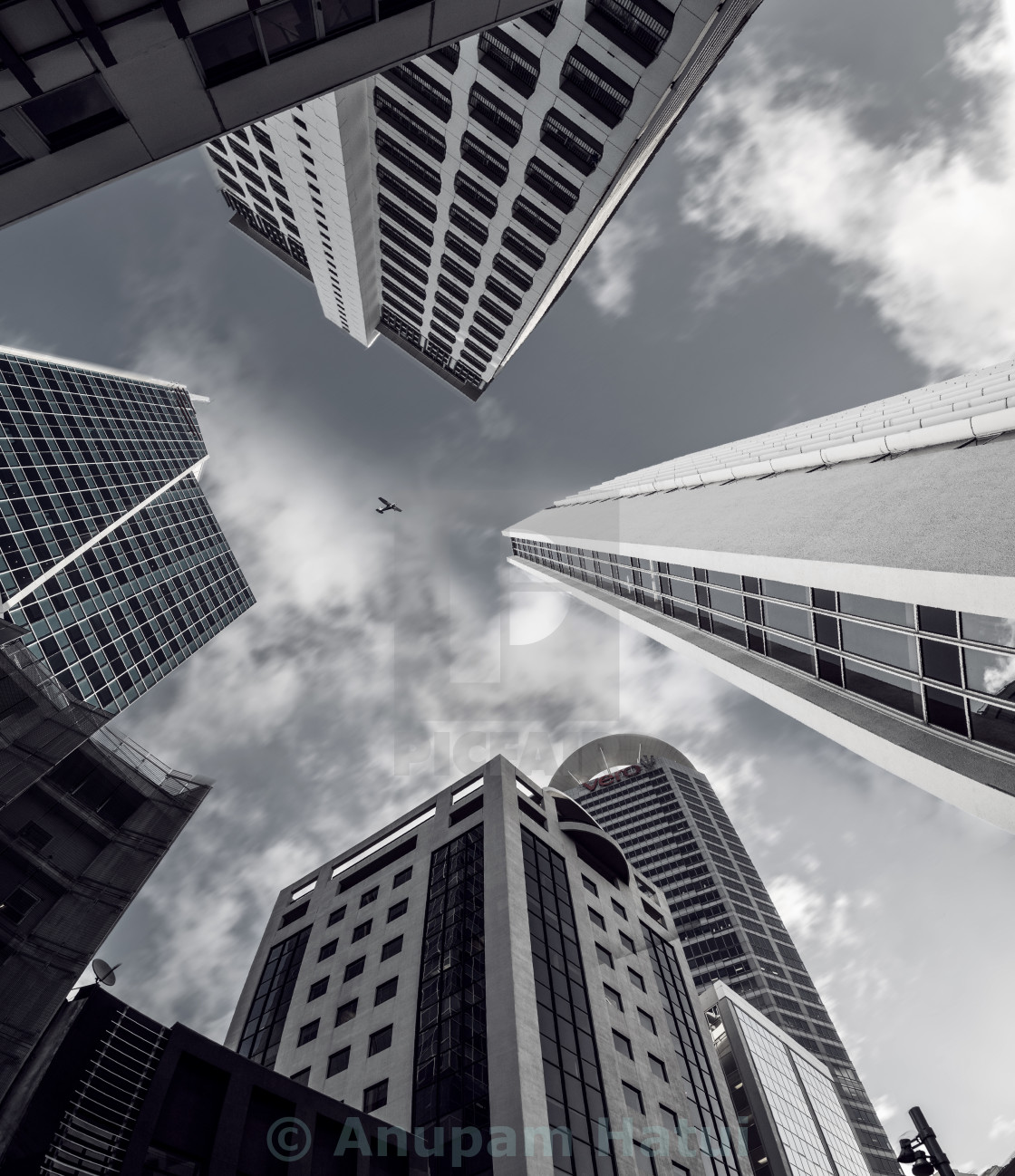 """Auckland Skyscapers"" stock image"