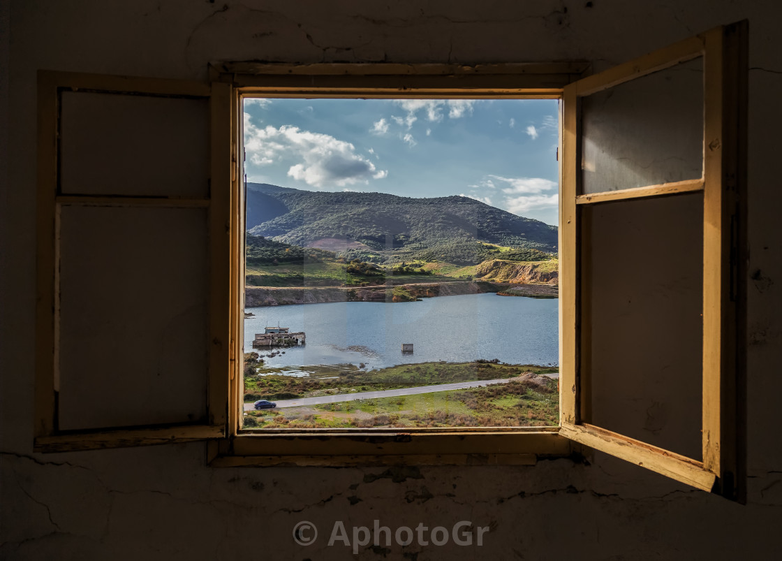 """Window view"" stock image"