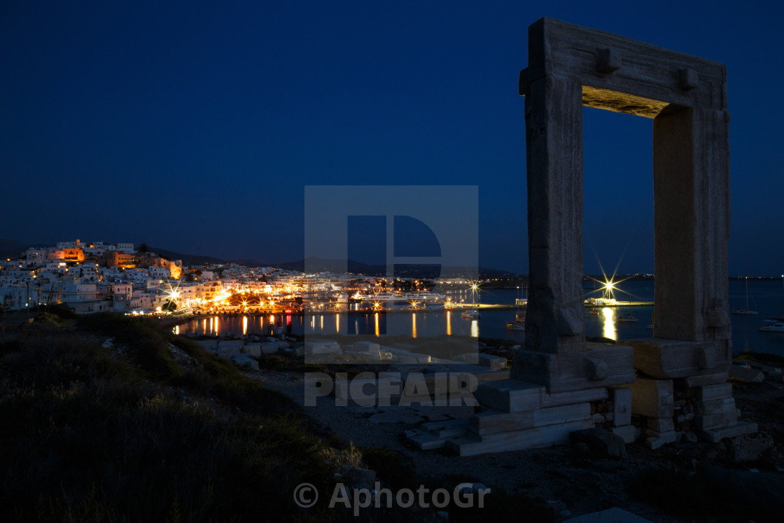 """Naxos city"" stock image"