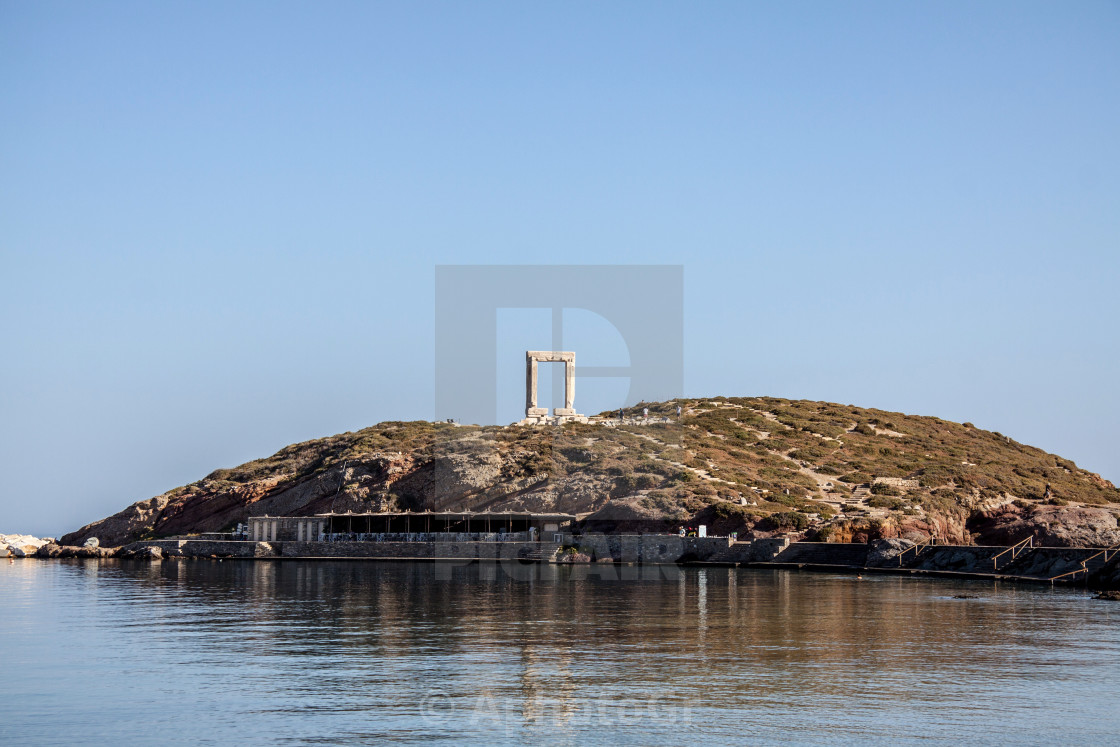 """Temple of Apollon - Naxos"" stock image"