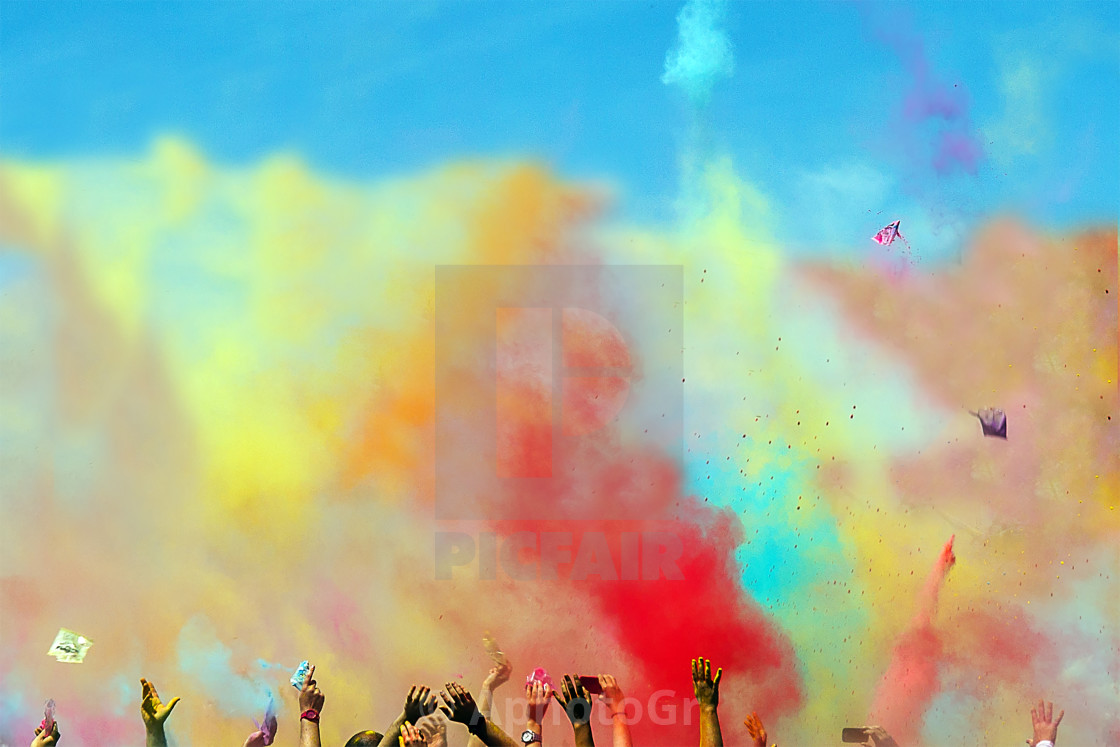 """Colors"" stock image"