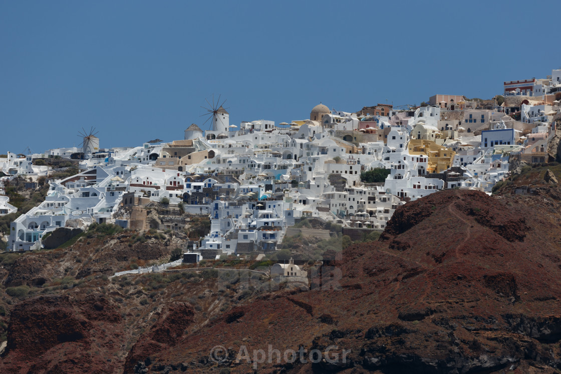 """Oia Village - Santorini Island Greece"" stock image"