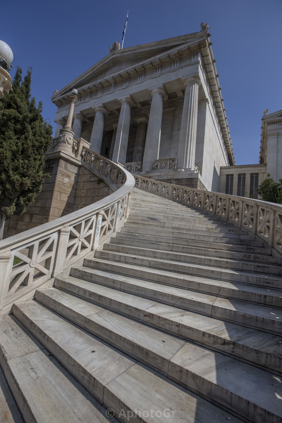 """National Library of Athens"" stock image"
