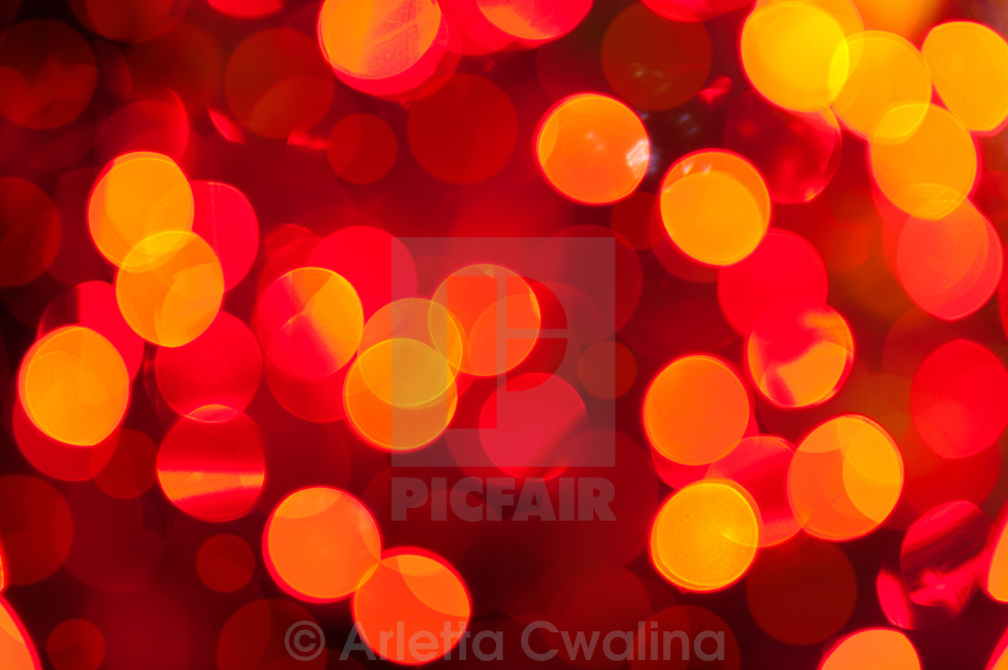 """sparkles and circles bokeh abstract"" stock image"