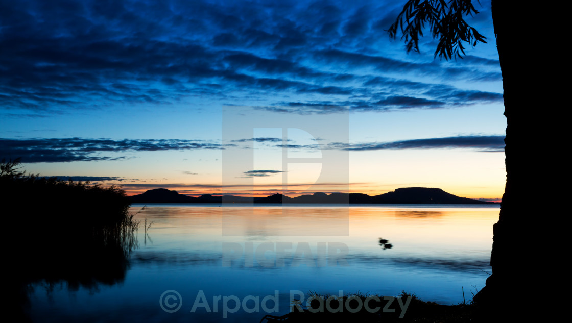 """Beautiful sunrise"" stock image"