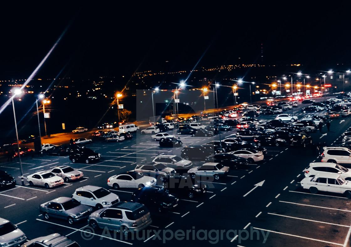 """Night city"" stock image"