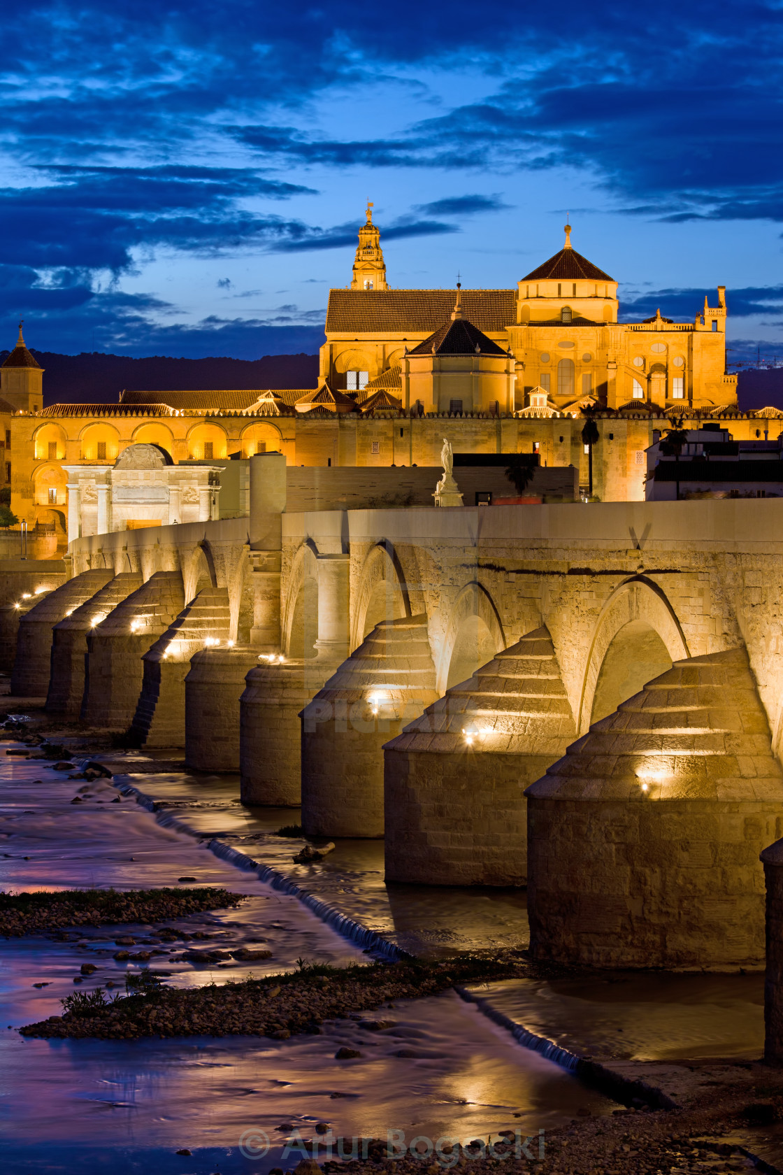 """Mezquita Cathedral in Cordoba"" stock image"