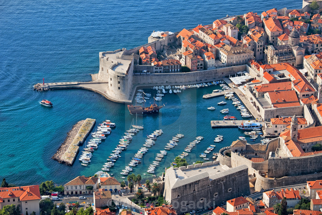 """Old Town of Dubrovnik in Croatia"" stock image"