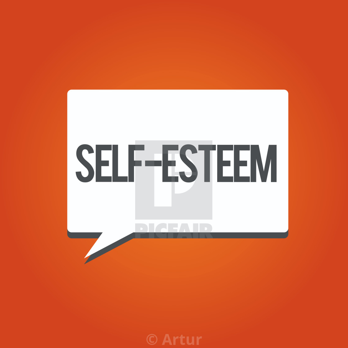 self esteem meaning in english