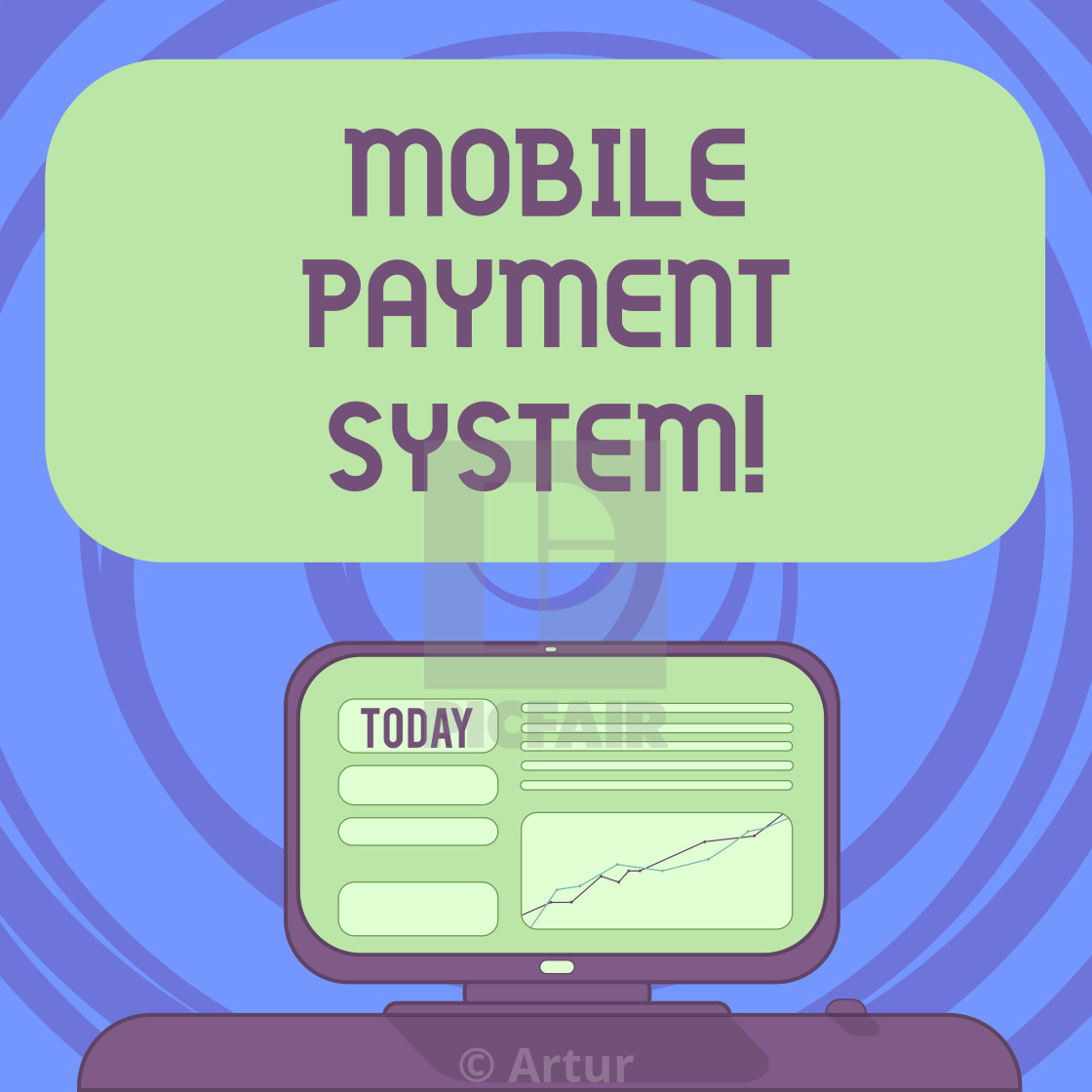 Text sign showing Mobile Payment System  Conceptual photo Payment