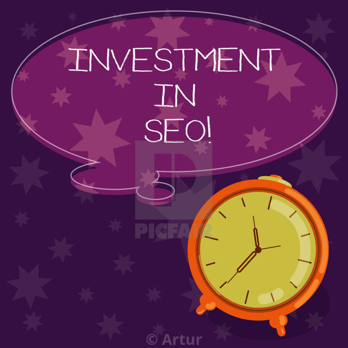 6eec271605b33 Word writing text Investment In Seo. Business concept for pay money ...