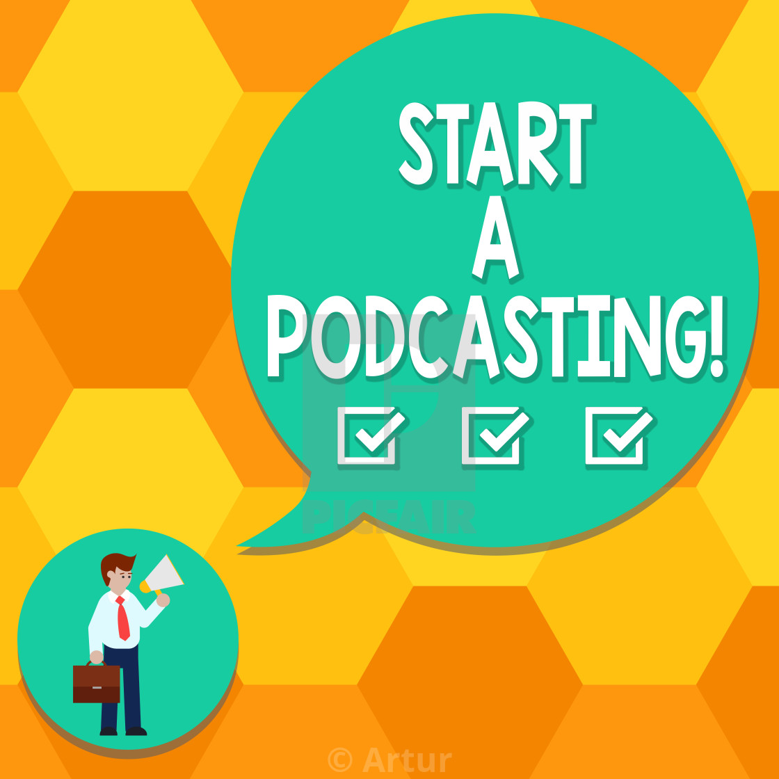 Handwriting Text Writing Start A Podcasting Concept Meaning