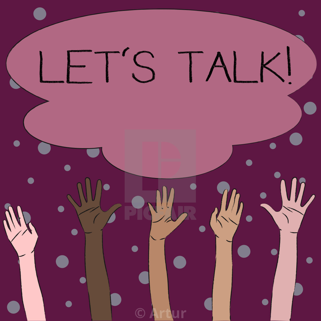 15 Word writing text Let S Talk. Business concept for they are ...