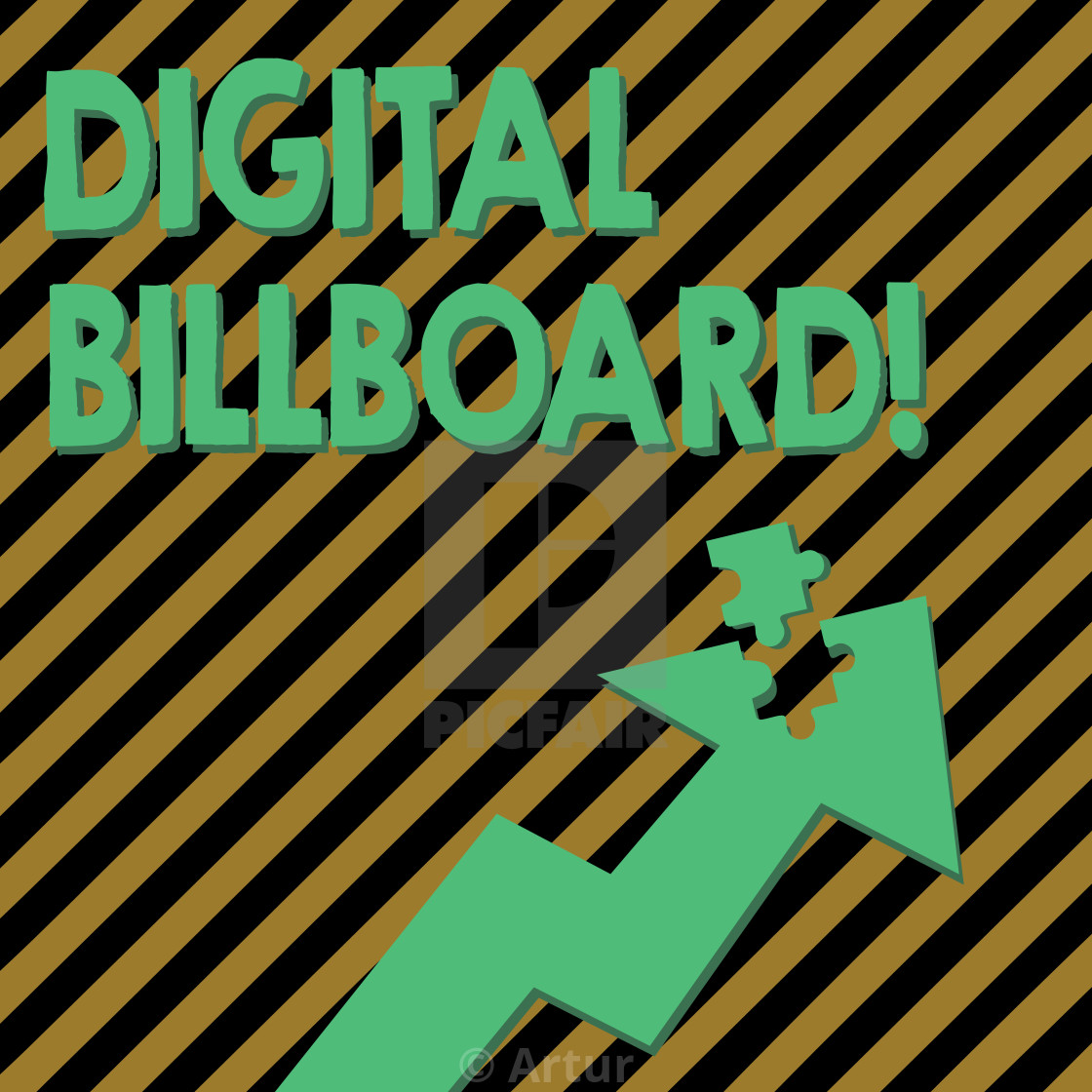Conceptual hand writing showing Digital Billboard  Business