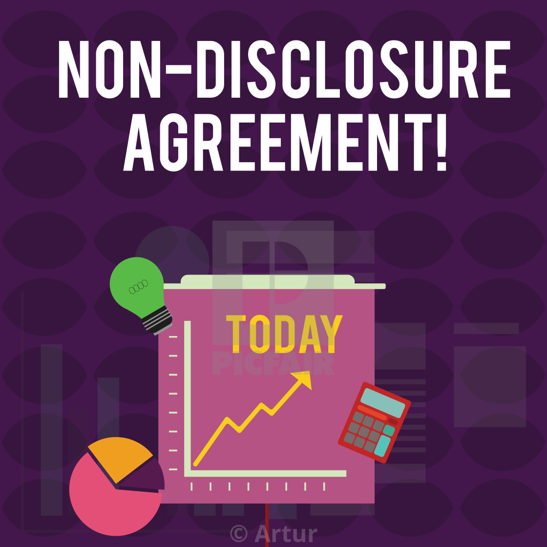 Handwriting Text Writing Non Disclosure Agreement Concept