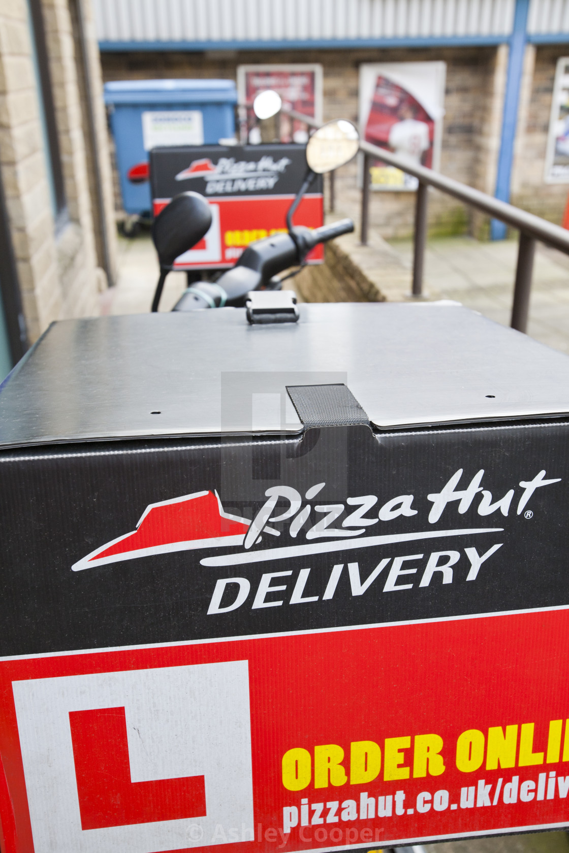 An Asian Pizza Hut Fast Food Takeaway In Keighley West
