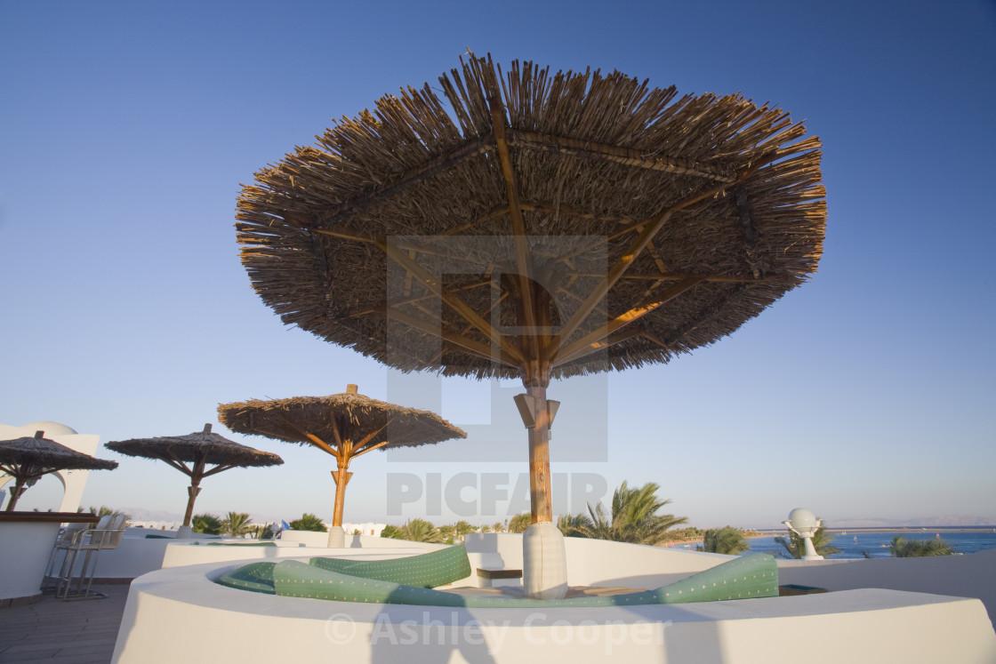 The Four Star Dahab Hilton Hotel Resort In Dahab In The Sinai Desert