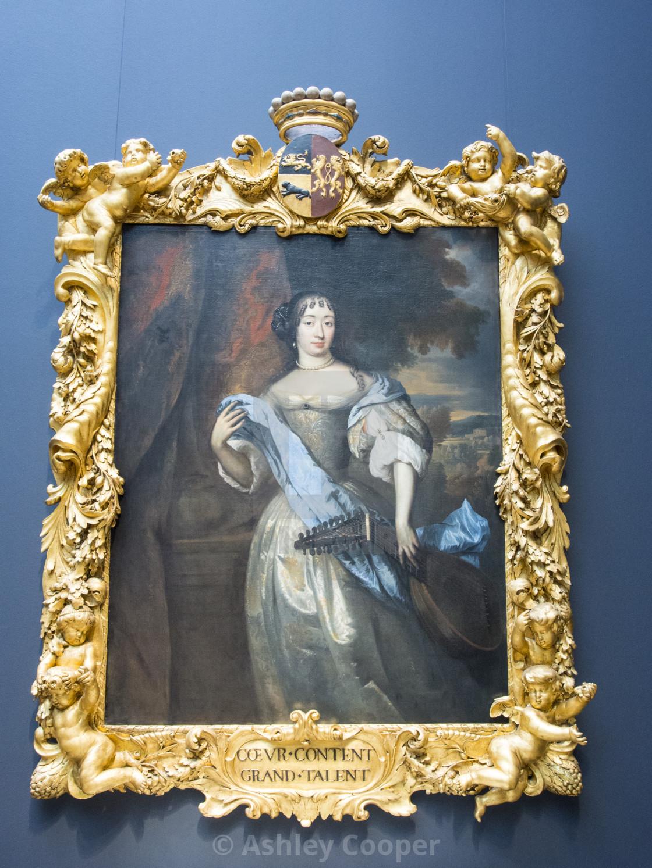 A portrait by Jan de Baen at the famous Reichstag museum in