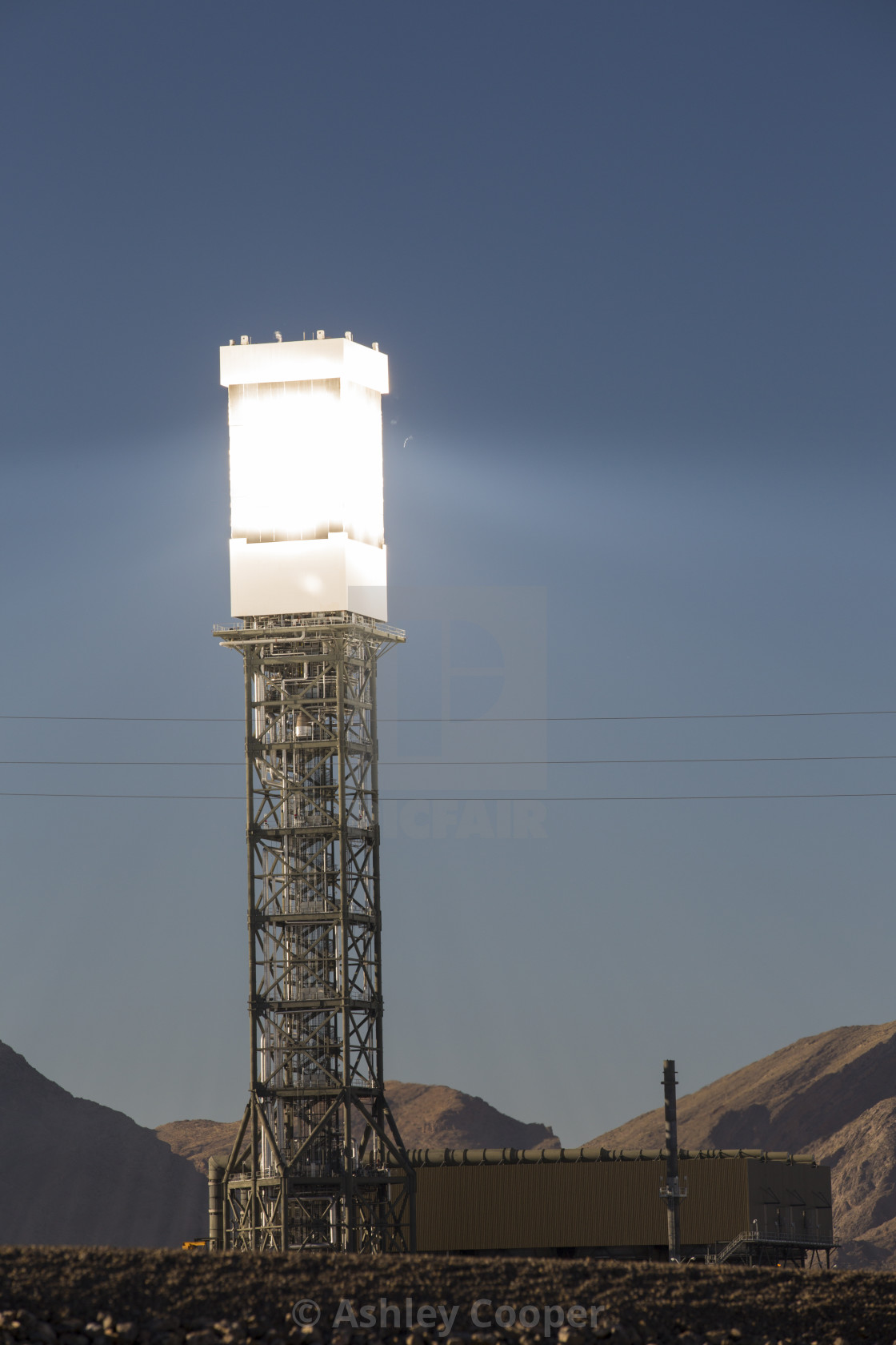 The Ivanpah Solar Thermal Power Plant in California''s