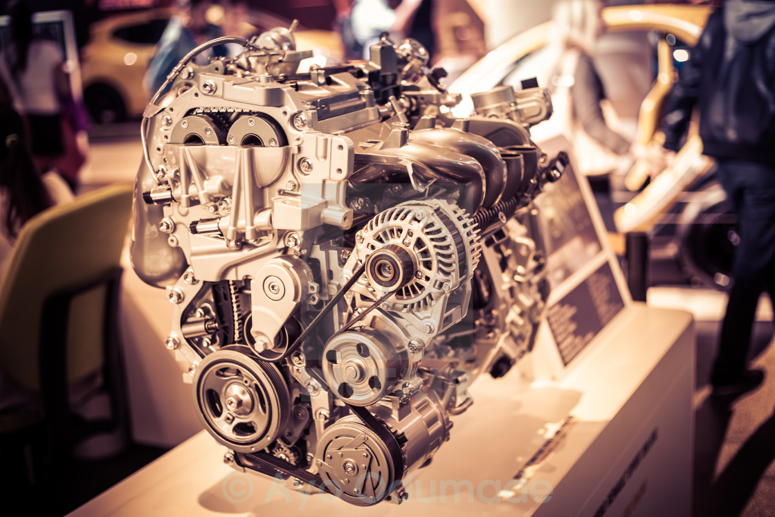 """Raw Engine"" stock image"