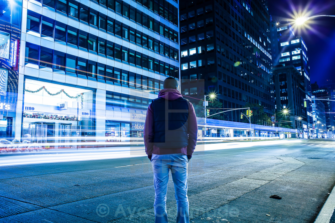 """Man Alone"" stock image"
