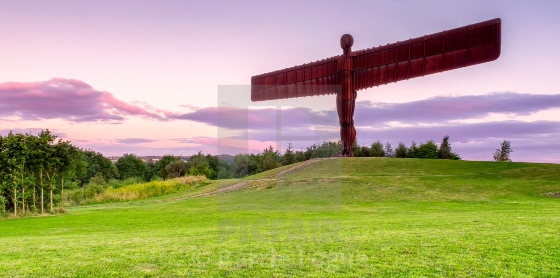 """""""Angel of the North"""" stock image"""