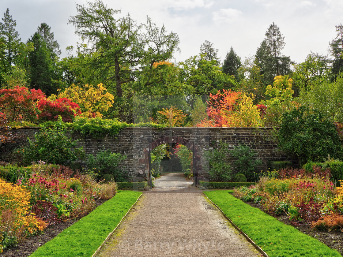"""Walled Garden"" stock image"