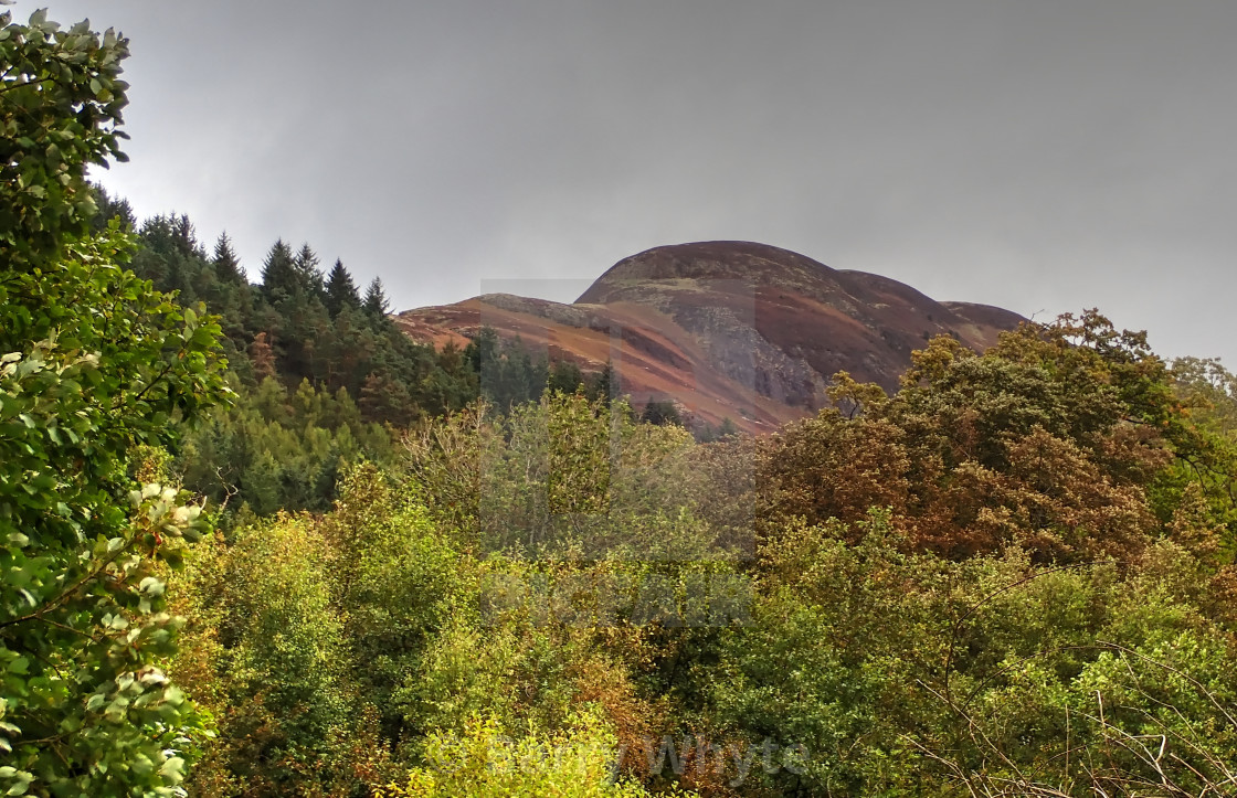 """Conic Hill"" stock image"