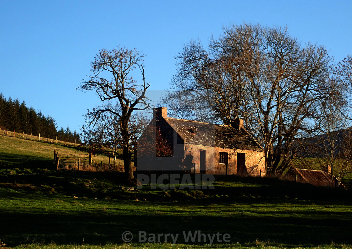 """Rustic Cottage"" stock image"