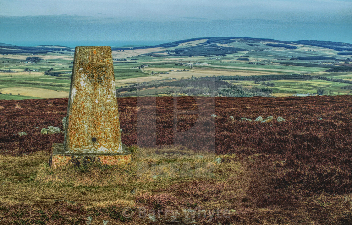 """Trig Point"" stock image"