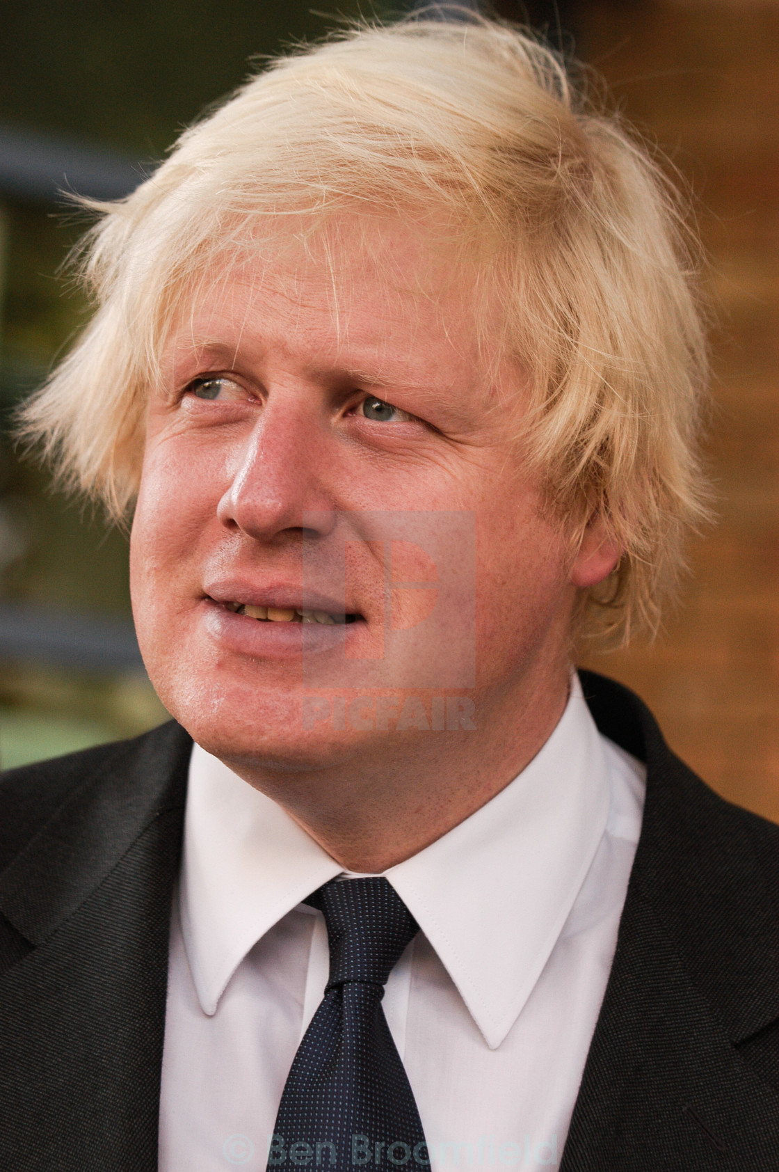 """Boris Johnson 1"" stock image"