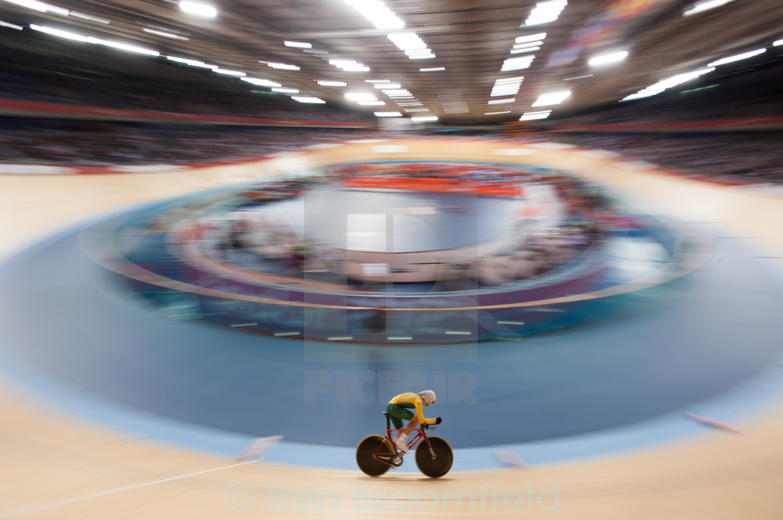 """London Velodrome"" stock image"