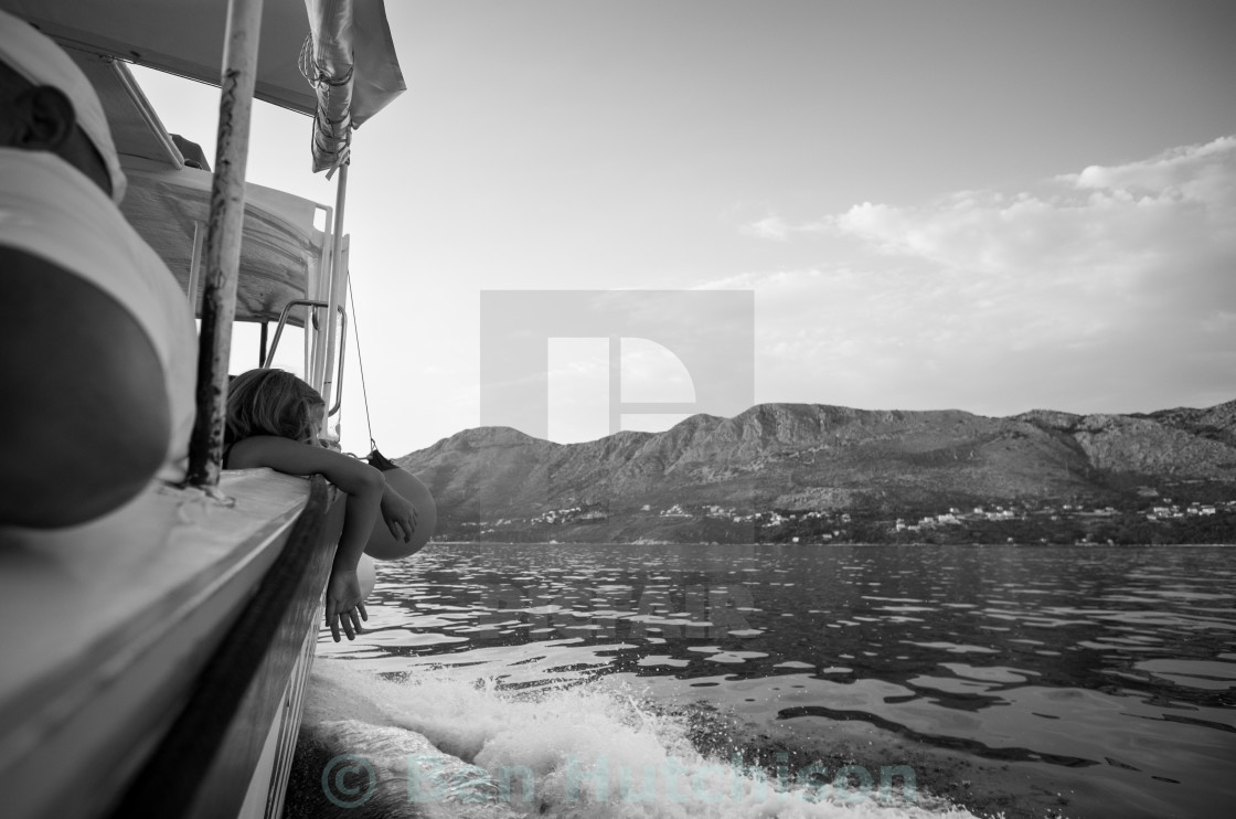 """Boat Tripping"" stock image"